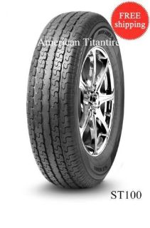 Buy (6-Tires) ST225/75R15 E/10Ply TITIRE JOYROAD ST100 Radial Trailer Tires 2257515 motorcycle in Wood Dale, Illinois, United States, for US $348.00