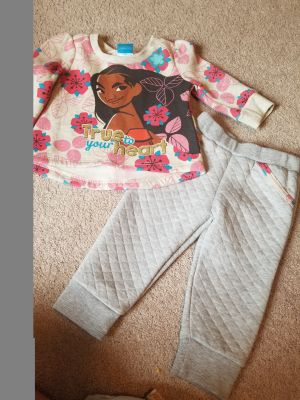 Girl 12 Month Moana Outfit, New without tags $2