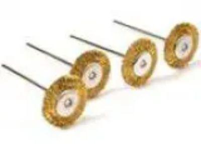 pcs Dia mm Rotary Tool Brass Wheel Wire Brush Set - Fits Dre