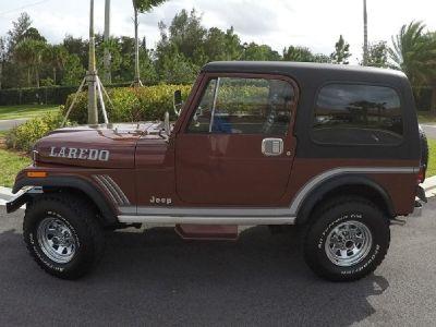 1985 Jeep CJ Laredo