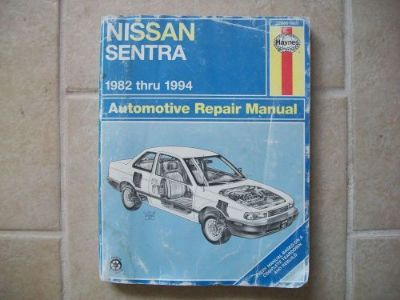 Find Repair Manual Haynes Nissan Sentra 1982-1994 72050 (982) motorcycle in Golden Valley, Arizona, United States, for US $6.99