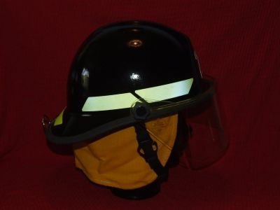 Fireman's Fire Fighting Helmet Bullard Firedome FX Model ~ Unused ~ EC