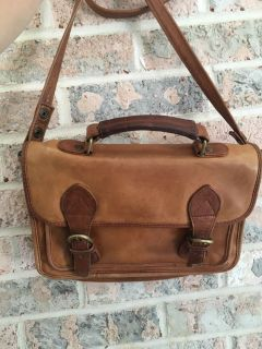 Vintage Crossbody Leather