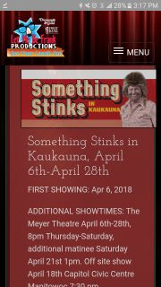 Meyer Theater Tickets for Sale April 12 Show