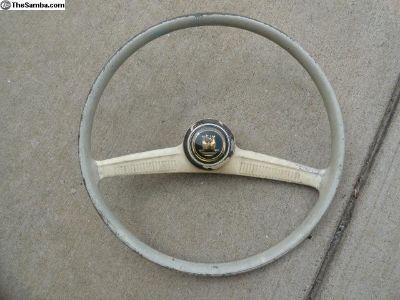 Volkswagen Beetle Early Steering Wheel 1958