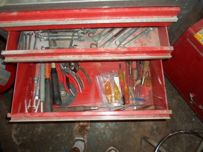 craftsman tool cabinet with tools or without.
