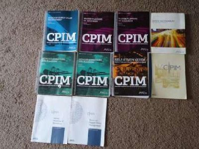 CPIM books for sale (APICS & other reference books)