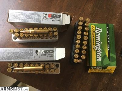 For Sale: 30-06 hunting ammo 60rds