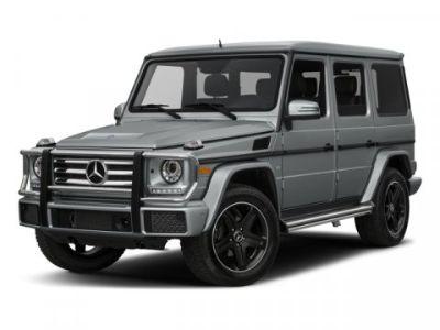 2016 Mercedes-Benz G-Class G 550 (Gray)