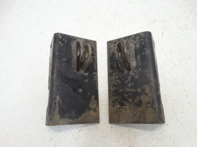 Purchase 1996 Arctic Cat Bearcat 454 4x4 ATV Foot Rest Mounting Brackets Left Right Pair motorcycle in West Springfield, Massachusetts, United States, for US $21.99