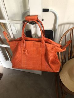 Dooney and Bourke Duffle Carry on Tote Bag