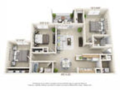 Trails of Saddlebrook - Three BR, Two BA (1st Floor Patio)