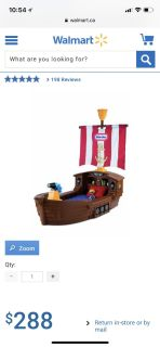 Little tikes pirates toddler bed