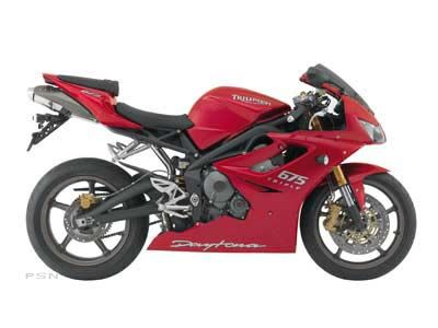 2008 Triumph Daytona 675 SuperSport Motorcycles Cleveland, OH