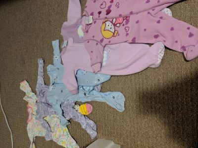 0-6 months baby girls clothing