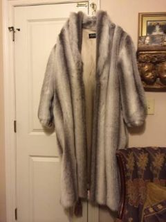 Full length faux fur