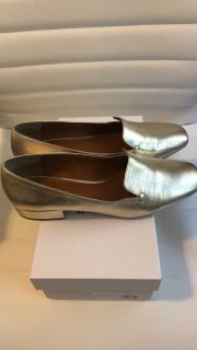 Karrina gold flats by Halston