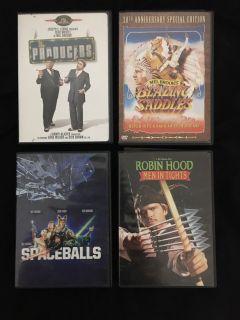 Mel Brooks DVD Movies