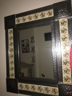Mexican Wall Hanging Mirror