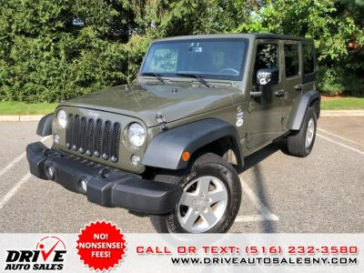 2015 Jeep Wrangler Unlimited 4WD 4dr Sport (Tank Clearcoat)