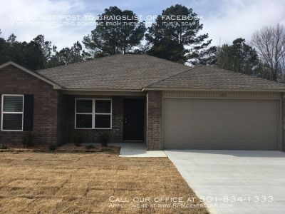 105 Palm St., Jacksonville AR 72076 - New Construction 3br 2ba Graham Woods