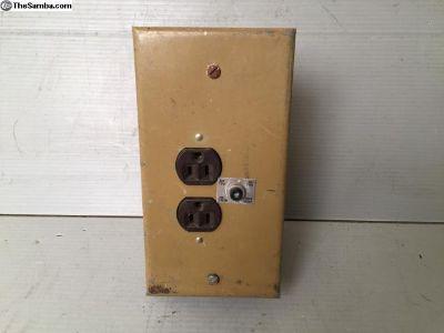 Westy 110V electric outlet, 70-73