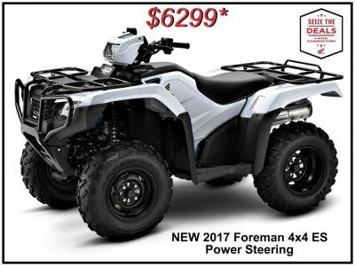2017 Honda FourTrax Foreman 4x4 ES EPS Utility ATVs Erie, PA