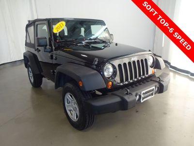 2013 Jeep Wrangler Sport (black)