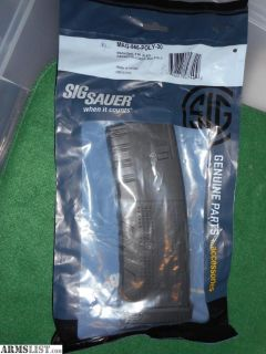 For Sale: New Sig Sauer 30rd Polymer AR-15 5.56x45 magazines