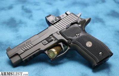 For Sale: SIG SAUER P226 LEGION SAO RX 9mm