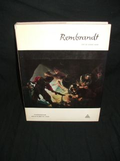 Rembrandt & The Impressionists Coffee Table Books