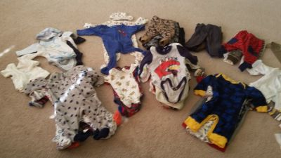 0-3 months Baby Clothes - Boys 70+ Pieces