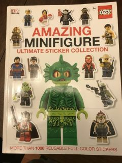 Brand New! Lego Amazing Minifigure Ultimate Sticker Collection
