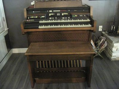 1972 upright Hammond Organ