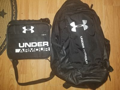 Under Armour backpack and lunch box price for both read description
