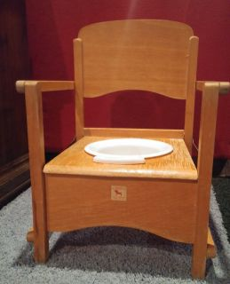 Antique Toddler Potty Chair