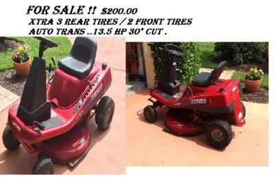 Craftsman 13.5 HP Riding Mower