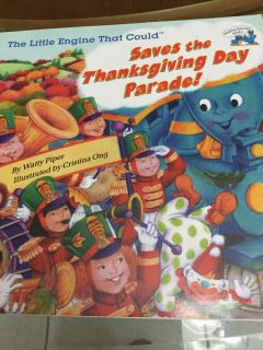 NWT! The Little Engine That Could Saves the Thanksgiving Day Parade! Children s Book! NS Meet AB Park or PPU