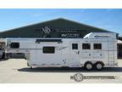 2019 SMC 3 Horse 11 Living Quarters Trailer with Slide Out 3 horses