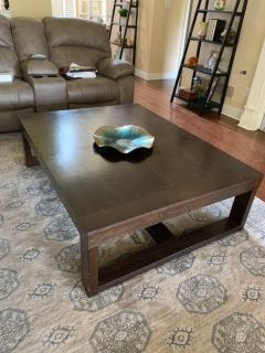 Large Coffee & side table set