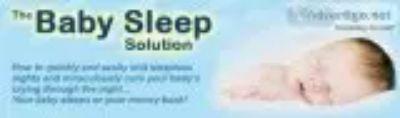Is your baby having trouble sleeping?