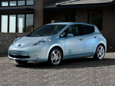 2016 Nissan LEAF SV (Forged Bronze)