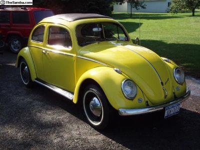 1960 Sunroof Beetle