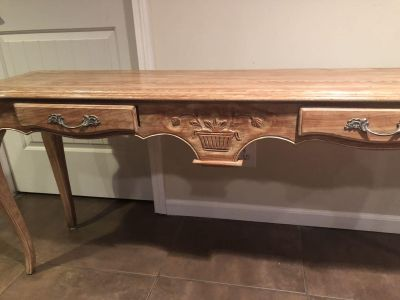 EUC sofa table entry table measurements in pictures