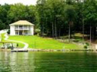 Custom built home on two lakefront lots on Lake Thunderbird