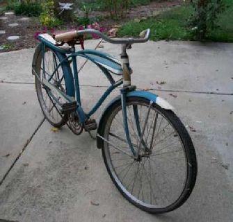 $110 Bicycle Vintage 1941 Murray SportCrest