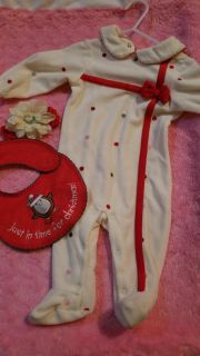 Infant holiday outfit