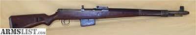 For Sale: Rare & Orig WWII German G 41(W) Rifle