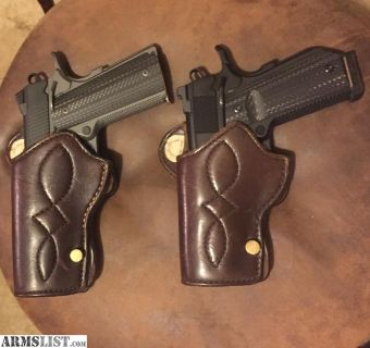 For Sale/Trade: Rare Milt Sparks 1911 Holsters LH Set