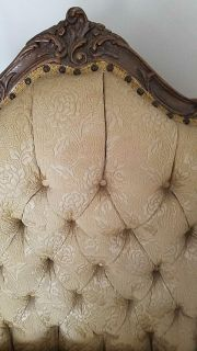 Antique French Victorian chair